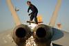 fa-18 hornet (San Diego Air & Space Museum Archives) Tags: vfa102 navy fa18f superhornet diamondbacks snow broom aviation aircraft airplane militaryaviation navalaviation unitedstatesnavy usnavy usn boeing mcdonnelldouglas mcdonnelldouglasfa18superhornet mcdonnelldouglasfa18efsuperhornet mcdonnelldouglasfa18fsuperhornet boeingfa18superhornet boeingfa18efsuperhornet boeingfa18fsuperhornet fa18superhornet fa18efsuperhornet fa18fsuperhornet fa18 fa18ef generalelectric ge generalelectricf414 f414 gef414 gef414ge400 f414ge400 superbug