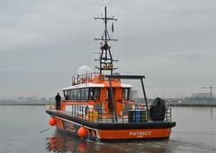 Patriot (18) @ KGV Lock 11-03-18 (AJBC_1) Tags: london ©ajc dlrblog ship boat vessel england unitedkingdom uk northwoolwich eastlondon newham londonboroughofnewham surveyvessel royaldocks nikond3200 ajbc1 oceanologyinternational2018 oi18 oi2018 braveheartmarinebv patriot hydrographicsurveyandcrewtendervessel javelininternational gallionspoint kgvdock kinggeorgevdock