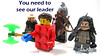 You need to see our leader (WhiteFang (Eurobricks)) Tags: lego collectable minifigures series city town space castle medieval ancient god myth minifig distribution ninja history cmfs sports hobby medical animal pet occupation costume pirates maiden batman licensed dance disco service food hospital child children knights battle farm hero paris sparta historic brick kingdom party birthday fantasy dragon fabuland circus
