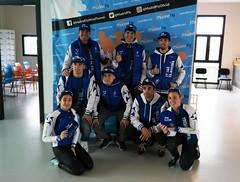 Bautismo vuelo #TeamClavería túnel de viento MadridFly 19