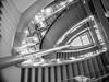 It's in the DNA (MiguelHax) Tags: london england unitedkingdom gb blackandwhite bw wb monochrome noiretblanc blackwhite city new architecture spiral steps staircase crick