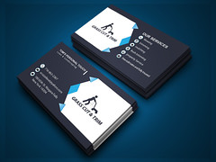 Business Card (mdshahin2) Tags: abstract art business businesscard card clean color colorful cool corporate creative divergent elegant minimal new personal printtemplate professional proposal red shape studio stylish