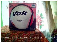 Un esferico nuevo. (Juan Antonio Xic Eseyosoyese) Tags: un balon ball futbol soccer nuevo voit arsenal 99 equipo jovenes deporte rapido esferico celularhisense liga mx