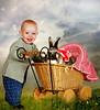 Ulysses and the rabbit (jaci XIII) Tags: coelho menino criança carrinho brinquedo pessoa animal paisagem rabbit boy child cart person landscape