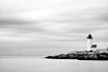 Annisquam Lighthouse (BrianEden) Tags: gloucester lighthouse landscape ann massachusetts longexposure rocky rocks cape newengland seascape beach annisquamlighthouse sea travel annisquam house blackandwhite black capeann bw coast light white unitedstates us