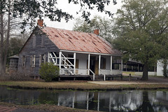 Acadian House (lucepics) Tags: house acadian louisiana lafayette water reflection houses architecture vernacular