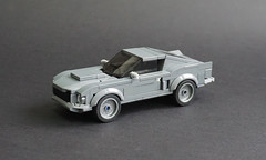 Lego 1968 Ford Mustang Fastback - 01 (Jonathan Ẹlliott) Tags: lego ford mustang fordmustang speedchampions car vehicle