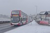 Snowy Scania (Better Living Through Chemistry37) Tags: route12 busesinthesnow snow extremeweather stagecoach stagecoachdevon stagecoachsouthwest transport transportation vehicles vehicle psv publictransport hop12 buses busessouthwest n250ud scania scanian250ud enviro400 enviro400mmc