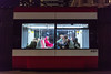 Night Rider (cookedphotos) Tags: 2018inpictures toronto ontario canada canon 5dmarkiv streetphotography ttc streetcar woman sitting feetup commute transit 365project p3652018