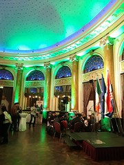 Irish Embassy St. Patrick's Day celebration at the Esplanade Zagreb Hotel 2018 (sean and nina) Tags: stpatricksday esplanade zagreb hotel emeraldballroom irish ireland eire eireann music musicians players performers band group ceol tradisiunta traditional black clothes men women male female girls boys pipes bodhran guitar singers performance st patricks day embassy croatia indoor inside flags eu europe european hrvatska tricolour tricolor national celebration event people persons evening 15th march 2018
