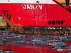 """Frachtschiff """"JAN V"""" im Seehafen Wismar (alterahorn) Tags: dxo mzuiko12100mm mzuiko cargovessel icefloes omdem1markii balticsea seehafenwismar seehafen hafen wismar ostsee baltic sea harbour port schiff frachtschiff cargo vessel ship eisschollen ice floes olympus omd"""