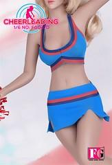 FIRE GIRL FG-047 Cheerleader Uniform - d2 (Lord Dragon 龍王爺) Tags: 16scale 12inscale onesixthscale actionfigure doll hot toys firegirl