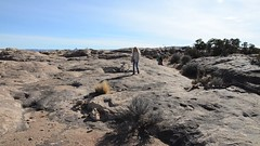 360-Degree View Of The Slickrock Trail (Joe Shlabotnik) Tags: 2017 canyonlands canyonlandsnationalpark everett hiking nationalpark nikond7000 november2017 proudparents sue utah video violet