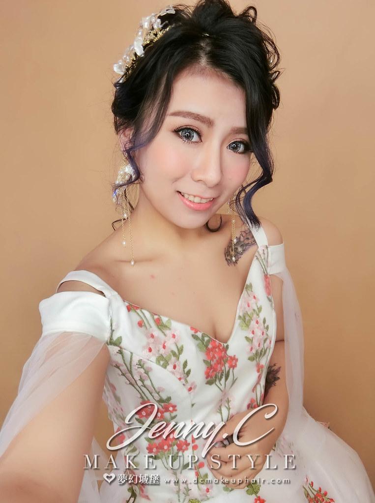 【新秘蓁妮】新娘造型創作 / 編織盤髮
