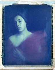 M. (denzzz) Tags: polaroid portrait polaroid669 expired analogphotography filmphotography instantfilm wista45dx
