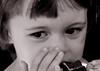 mélancolie ? (quentinmimi) Tags: portrait enfant fillette jeune fille noir et blanc tristesse mélancolie gâteau