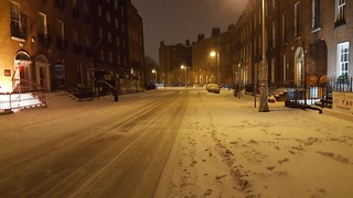 Calle en invierno - Winter street