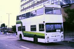 Slide 114-95 (Steve Guess) Tags: dms london transport lt daimler fleetline bus jubilee coaches stevenage hertfordshire herts england gb uk jgf392k