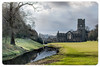 Fountains Abbey (wollemigrape477) Tags: fountainsabbey northyorkshire outside abbey religious parks outdoor sky building history historical nikon d7100 30mm primelens walks countryside nationaltrust