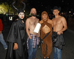 DSCN3886 (danimaniacs) Tags: halloween westhollywood costume shirtless hot sexy man guy malificent smile beard scruff