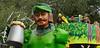 Robin Hood (BKHagar *Kim*) Tags: bkhagar mardigras neworleans nola la parade celebration people crowd beads outdoor street napoleon uptown float kreweoftucks robinhood green