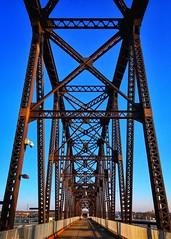 Big Four Railroad Bridge (Will-Jensen-2020) Tags: explore ohioriver jeffersonville sixspan 1895 truss stlouis chicago cincinnati cleveland bigfour historic ohio river walkway concrete steel conversion pedestrian railroad bridge louisville indiana kentucky