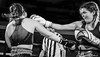 "Fight NIght:  Sarah ""Tiny Tyson"" Beth (GCU) v Lucy Hough  (GU) (FotoFling Scotland) Tags: fightnight gcalmuaythai glasgow glasgowcaledonianuniversity hamishwoodlecturehall muaythai sport thaiboxing boxing fight"