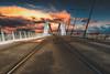 Pont Raymond Barre (Stéphane Sélo Photographies) Tags: france lyon paysage pentax pentaxk3ii pontraymondbarre rhône sigma1020f456 blending couchant landscape sunlight sunset