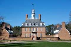 Royal Governor's Palace (ABWphoto!) Tags: usa virginia williamsburg colonial colonialwilliamsburg historic architecture exterior building mansion palace tourism touristdestination color photograph outdoors