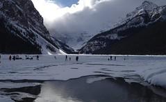 Lake Louise Banff Alberta Canada (Mr. Happy Face - Peace :)) Tags: banff alberta canada rockies lakelouise snowcaps art2018 scenery strangers yyc canadaparks weather nature hiking skating sking snow sun cloud sky