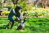 Statue In Gibbs Garden (3) (幻影留梦) Tags: gibbs garden early spring statue japanese georgia south living sony fe 24105mm f4 g oss lens sel24105g boy girl reading play nature