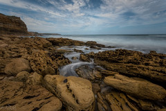 Yellow Rock  DSC_2597 (BlueberryAsh) Tags: porland2017 portland yellowrock beach longexposure coast coastline australiancoast ocean seascape water rocks nikond750 nikon24120