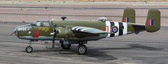 Historic Flight North American B-25D-30 Mitchell 43-3318 RAF Mitchell II KL161 N88972 'Grumpy' (ChrisK48) Tags: kdvt aircraft northamericanb25d30 mitchell n88972 dvt mitchellii historicflightfoundation usaaf433318 grumpy hff phoenixaz cn10023644or10020644 airplane rafkl161 historicflightatkilo7 phoenixdeervalleyairport