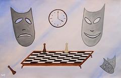 """""""Inevitabilidad"""" (svet.llum) Tags: arte pintura acuarela cuadro surrealismo"""