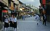 Street scene in Gion, Kyoto 祇園 京都 (Anaguma) Tags: japan kansai kyoto gion street historic architecture
