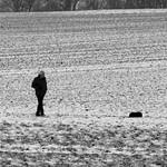 A Man and his Dog. thumbnail