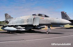 Greece Air Force McDonnell Douglas F-4E AUP Phantom II (71743) of 339 MPK (PictureJohn64) Tags: militair military picturejohn64 straaljager aircraft airplane plane jetfighter jet fighter f4 mcdonnelldouglas phantom airforce greece