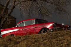 DSC03132 (Ryan Strickhouser) Tags: sony a68 red chevy