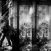 [ .   a previous life   . ] (ǝlɐǝq ˙M ʍǝɥʇʇɐW) Tags: dreams day oneiric architecture overlapping flare lens multipleexposure supersampler blackandwhite bw film 35mm lomography mrtrona apreviouslife cat feline texas