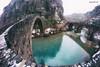 old vs new (kzappaster) Tags: stonebridge bridge samsung samsungnx100 nx100 nx samyang samyang8mmf28umcfisheye 8mmf28 fisheye mirrorless compactsystemcamera zagori epirus greece kokkorou winter