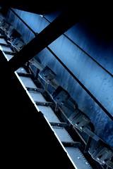 Industrial Art (Fias Pics) Tags: raum room stimmung plätze düster industrie licht light ort colours mood formen architecture architektur schatten shadows farben forms