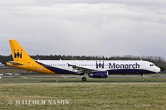 A321-231 OE-IGB ex G-OZBI MONARCH colours (shanairpic) Tags: jetairliner a321 airbusa321 shannon monarch thomascook oeigb gozbi