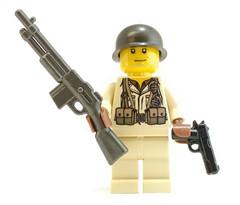 BAR Soldier Now at GI BRICK (GI Brick) Tags: brickarms gibrick lego legoweapons legosoldier legominifigs wwwgibrickcom wwii