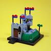 6081 King's Mountain Fortress micro (cmaddison) Tags: lego castle 6081 kingsmountainfortress micro microscale nanoscale