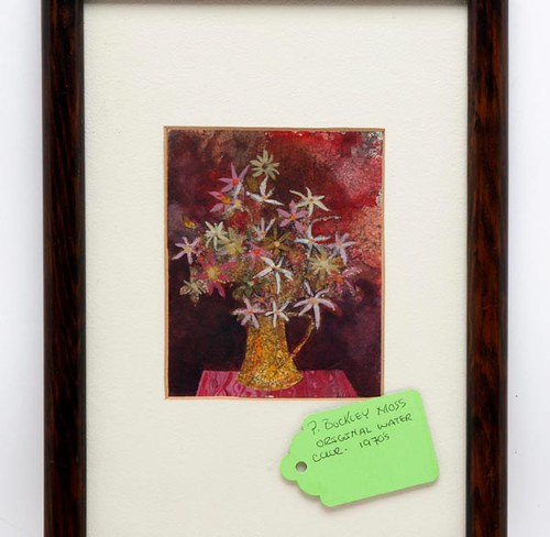 P. Buckley Moss Original 1970s Watercolor ($532.00)