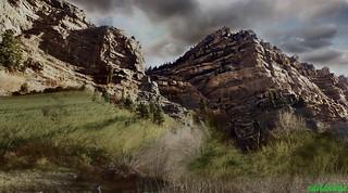 mark of perfection.Utah mountains