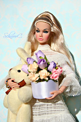 Poppy Parker (КристинаCristina) Tags: poppy parker integrity toys fashion royalty barbie spring flowers bunny doll dollphotographer dollcollector schnoorc