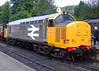 GROSMONT 190909 37901 (SIMON A W BEESTON) Tags: north yorkshire moors railway nymr grosmont goathland railfreight mirrlees pioneer 37901