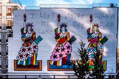 New York Street Art (jomak14) Tags: gf2 highline lumixg14f25 manhattan microfourthirds mural nyc nativem43lens newyork panasonic streetart urbanart