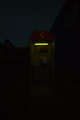 sodium (Andrew Lorimer) Tags: sodium lamp phone booth telstra street